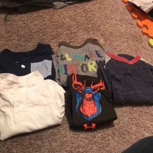 Multiples Shirts & Tops - Boys 2T t-shirt long sleeve bundle
